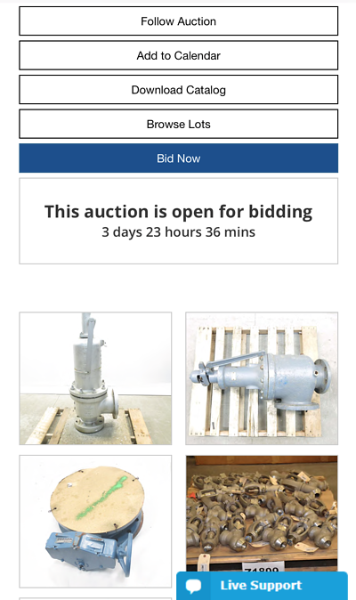 How to use mobile bidding engine