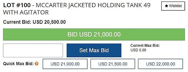 Quick Bid Features